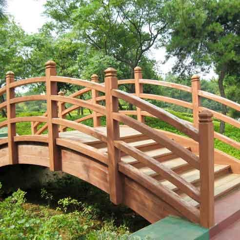 木桥3dmax图片素材